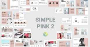Pink Free powerpoint template download