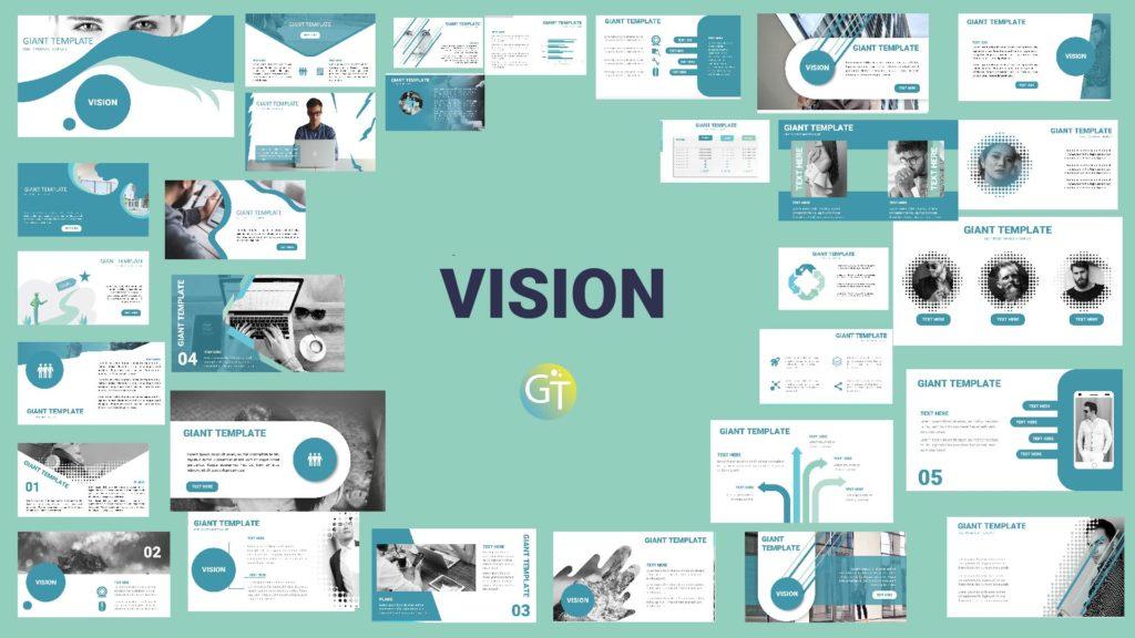 vision powerpoint keren