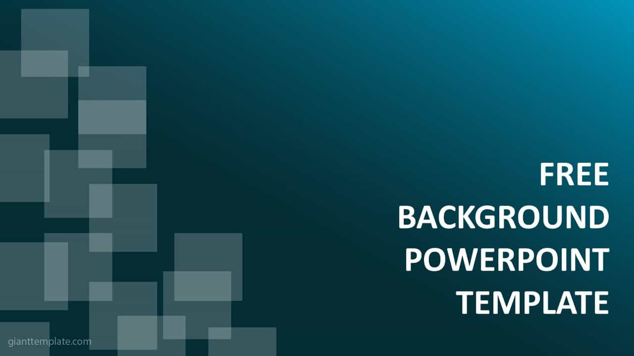 Background Powerpoint Elegant Blue V2