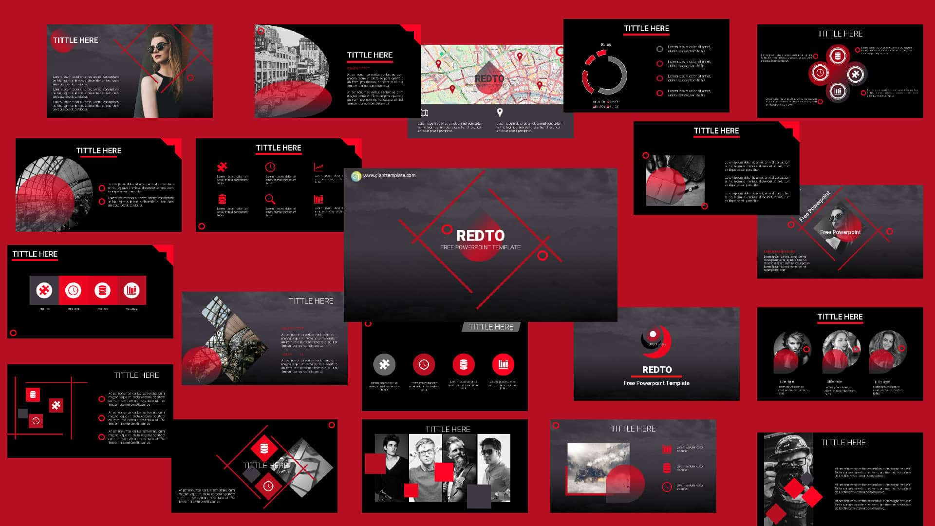 Download Template Powerpoint Free 50 Slide Free Powerpoint Templates Download Template Ptt