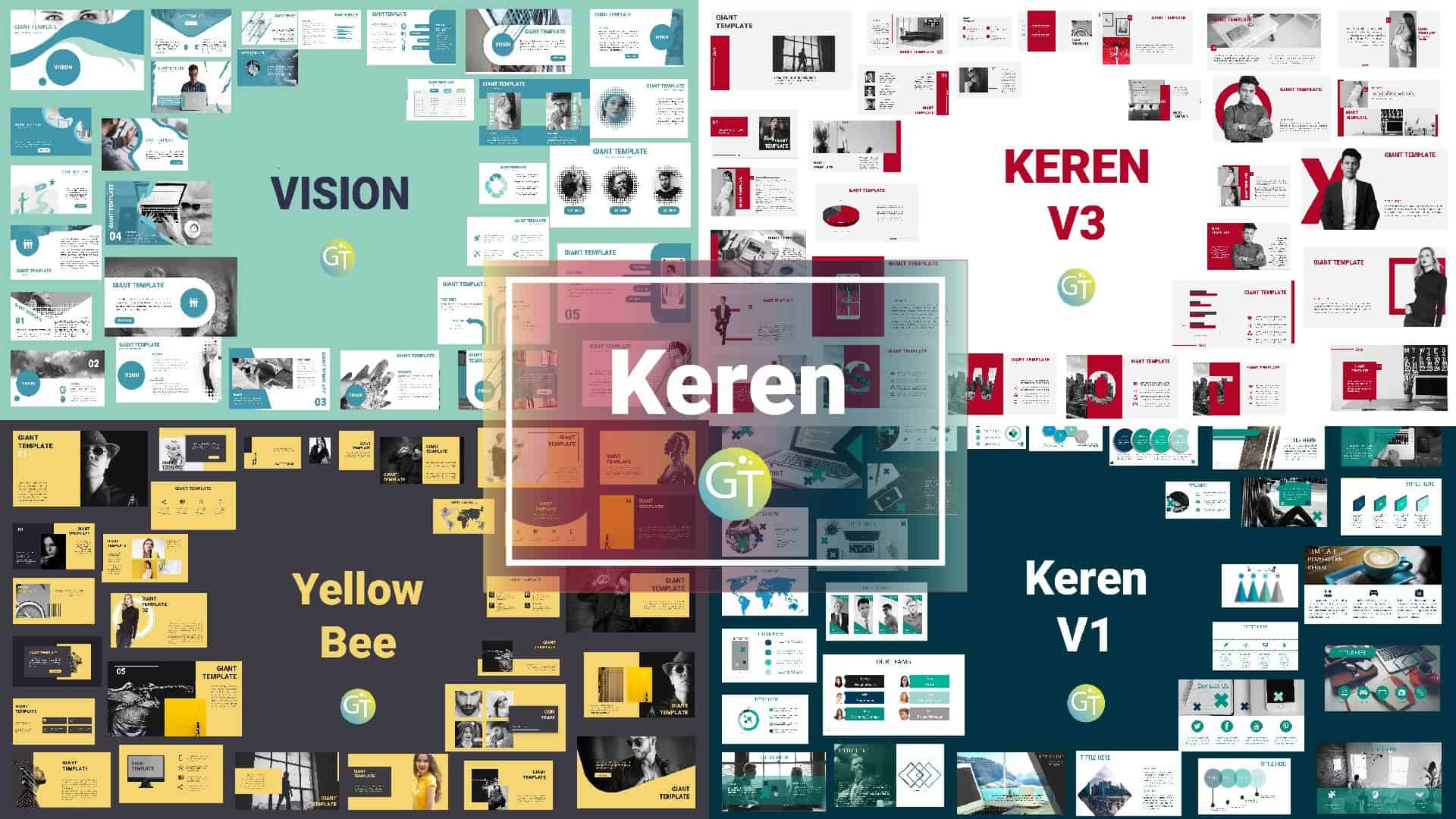 300+ Free Template Powerpoint Keren – Download update 2020