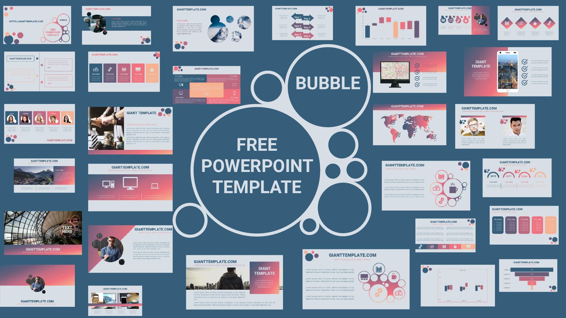 30 slide free download morph powerpoint template