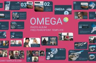 Photo Album Free Powerpoint Templates