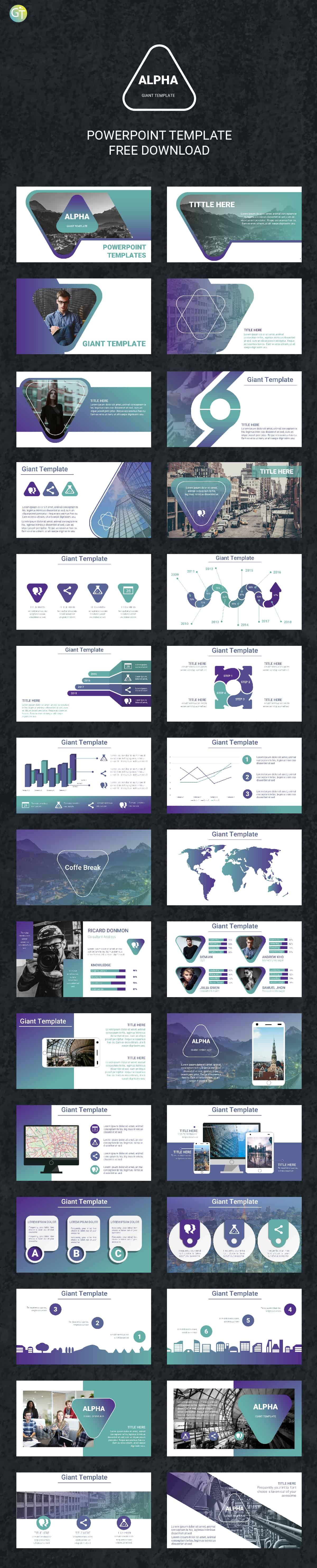 Morph free powerpoint templates 2018