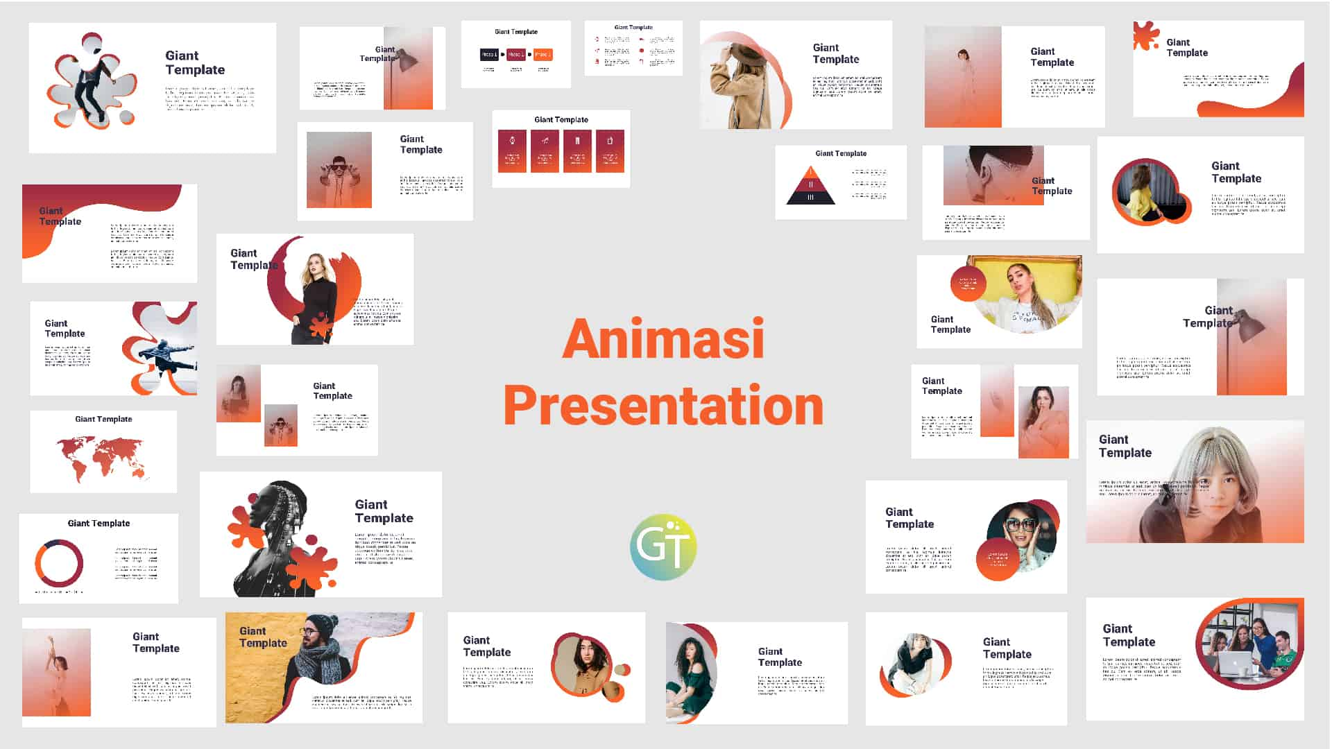 Download Template Powerpoint Animasi