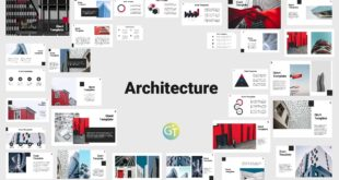 architecture free powerpoint template