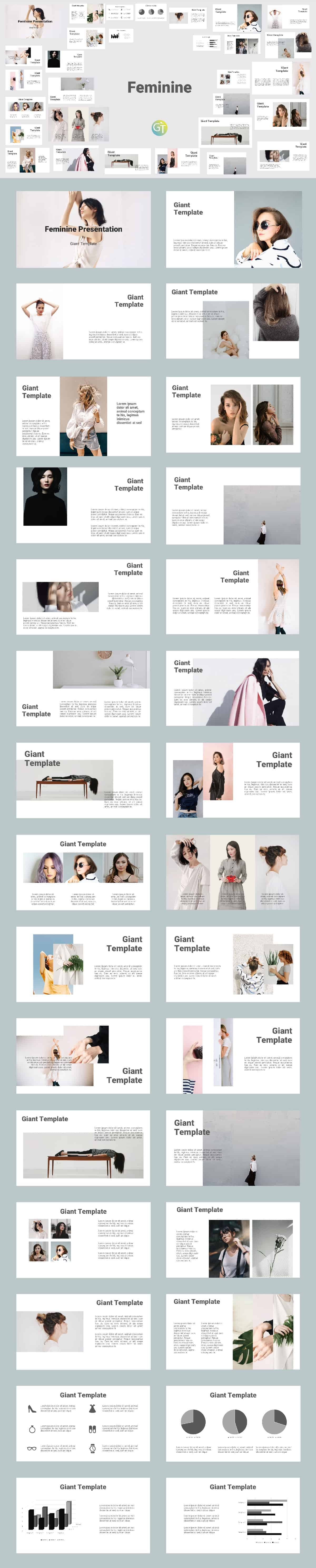 Feminine Free Powerpoint Templates Download