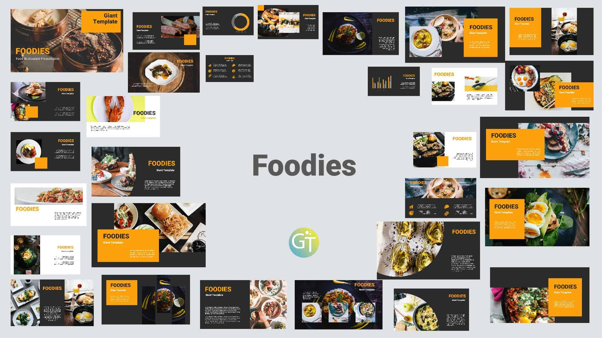 Food Restaurant Free Powerpoint Templates Download