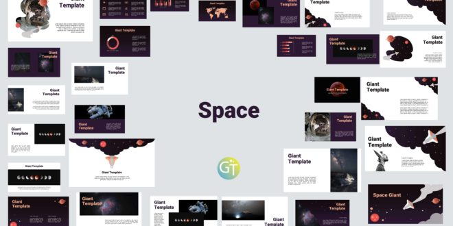 free download space powerpoint template