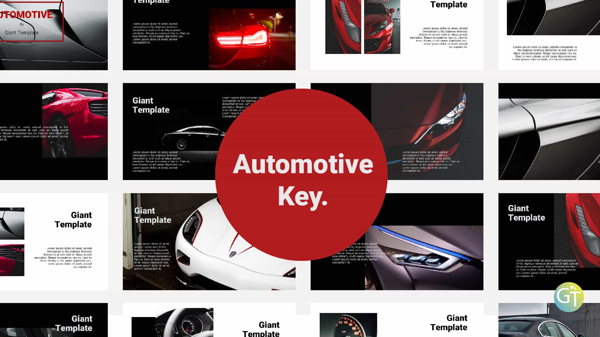 Automotive Keynote Template Free Downloads