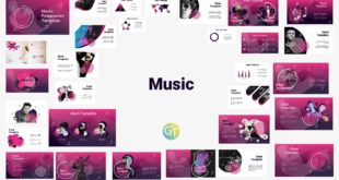 Music Free Powerpoint Template
