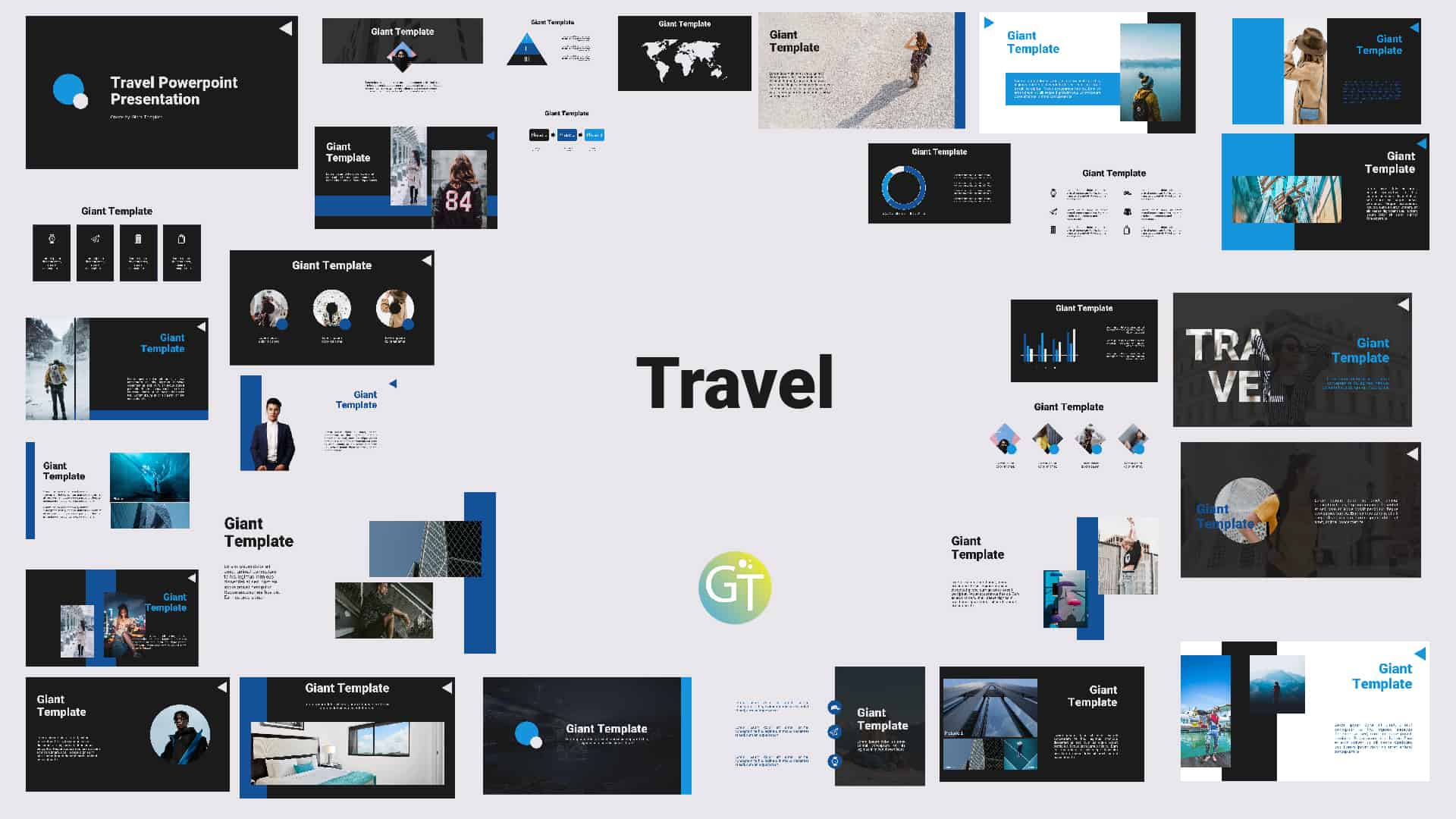 Travel Free Powerpoint Template