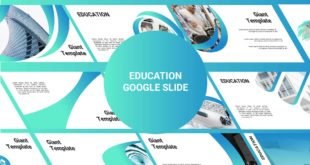 education free google slide template preview