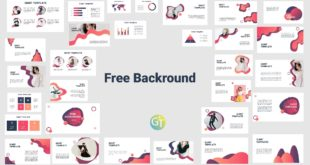 Free Background Powerpoint Template with Animation cover
