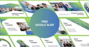 Download Free Google Slide Template cover