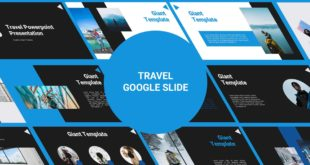 Travel Free Google Slide Template preview