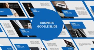 Free Google Slide Template Business Presentation cover