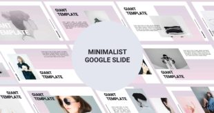Minimalist Free Google Slide Template cover