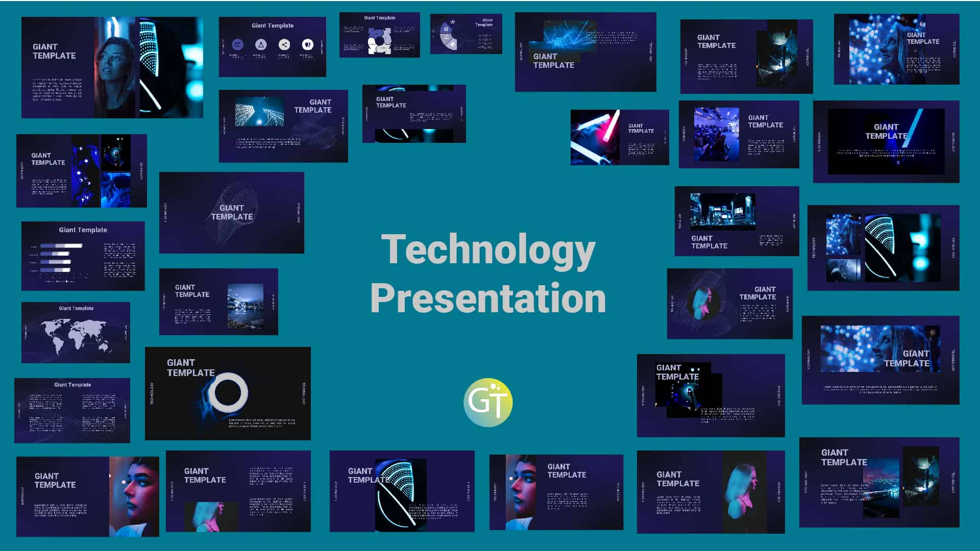 Technology Free Powerpoint Template