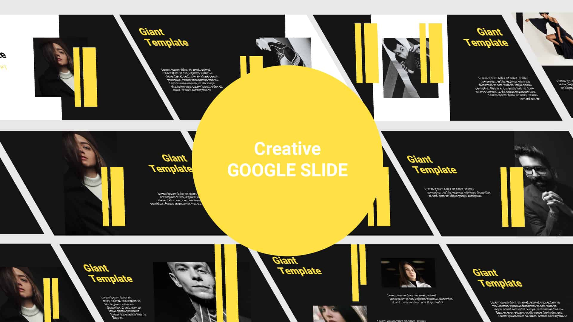 Creative Free Google Slide template