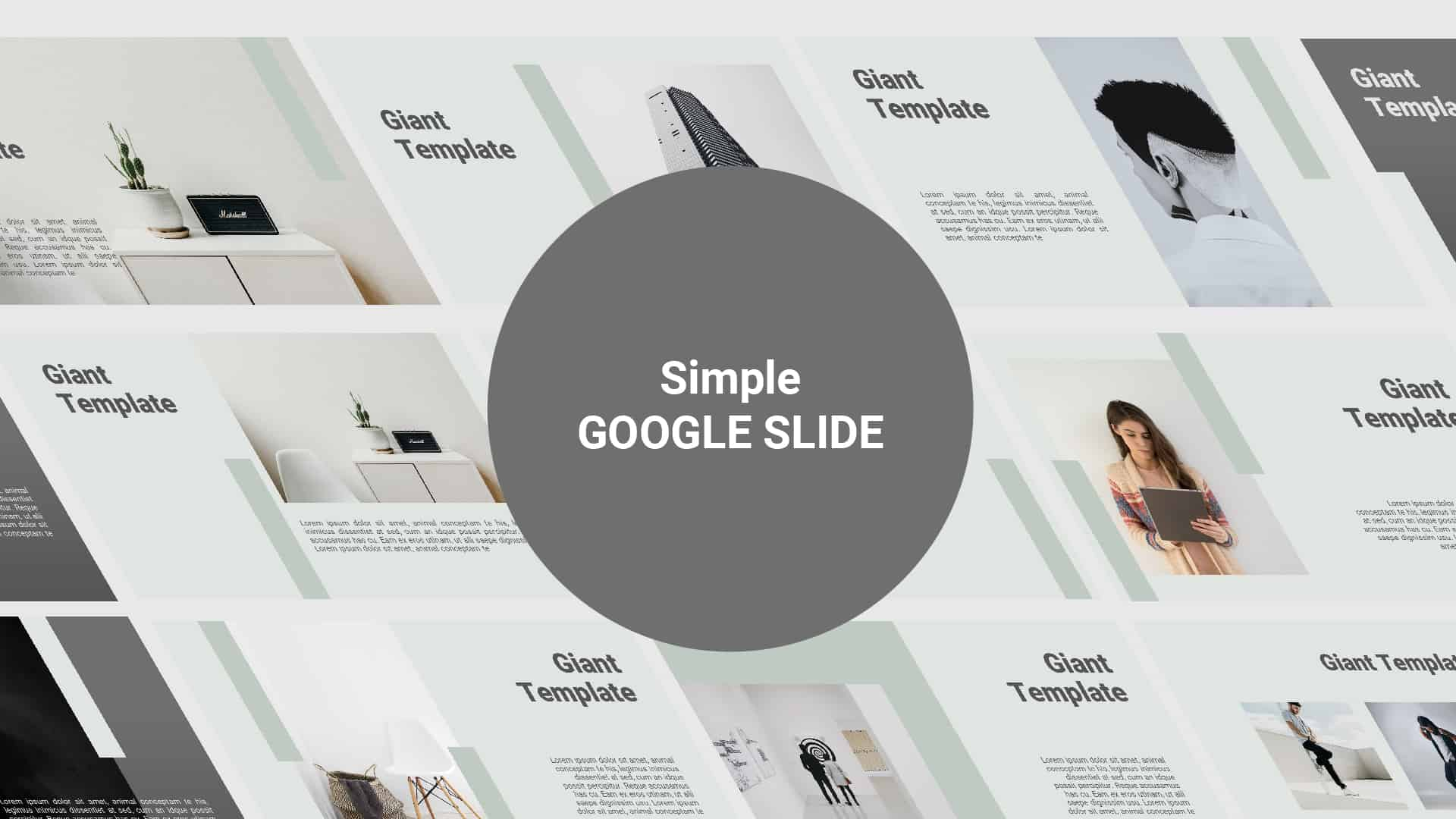 Simple Free Google Slide Template