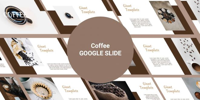 Coffee Free Google Slide Template cover