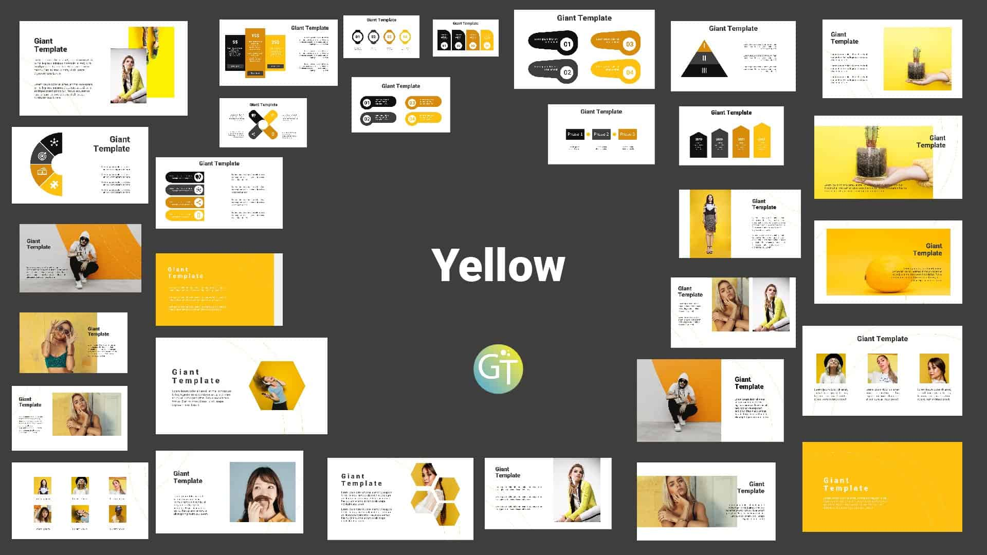 Simple Yellow Presentation